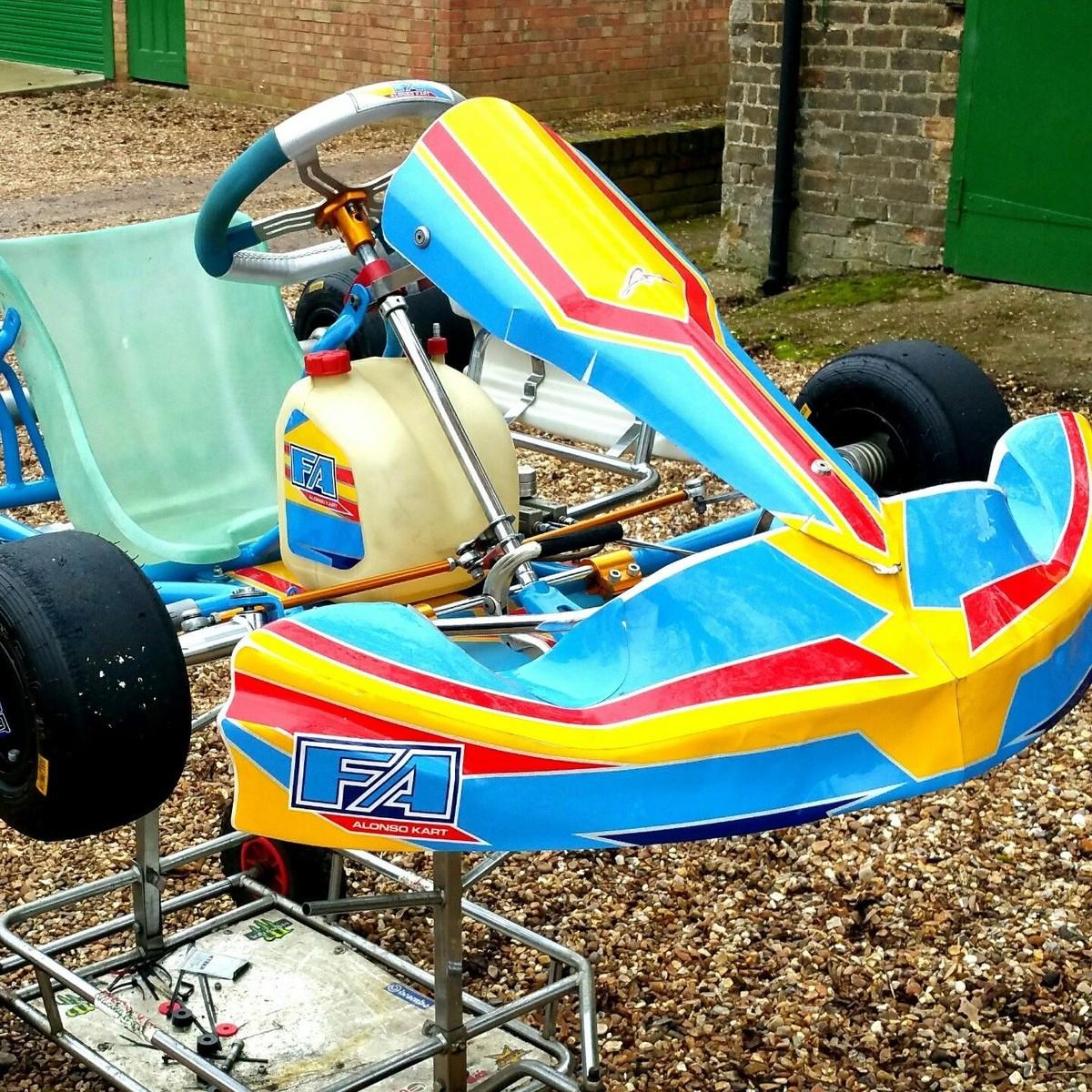 Secondhand Karting Co Uk Single Karts Tonykart Evk