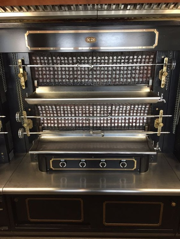 French Hand Crafted Rotisserie For Sale