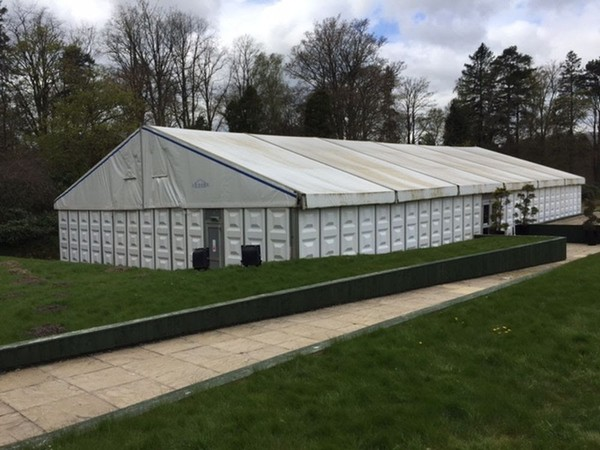 30m Long White Marquee For Sale
