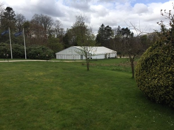 White De Borer Marquee For Sale