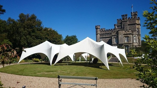White Capri Marquees For Sale