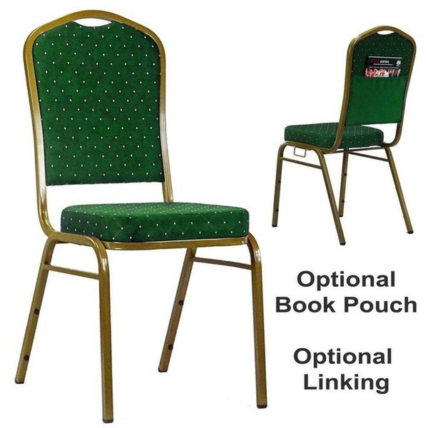 Green Linking Stacking Event / Venue Chairs