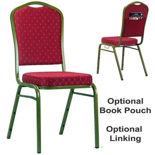 Red Linking Stacking Event / Venue Chairs