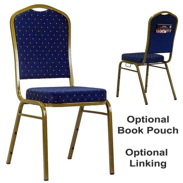 Blue Orbit Steel Banqueting Linking Stacking Event / Venue Chairs