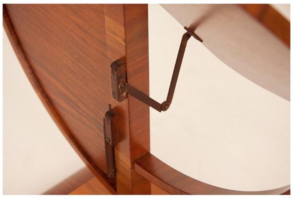 Art Deco Folding Table British c.1930
