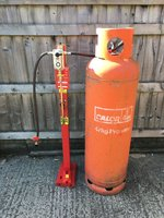LPG Stand Complete with Cylinders. Out side catering.