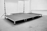 2M X 1M Alustage - Portable Aluminium Staging (18mm Ply)