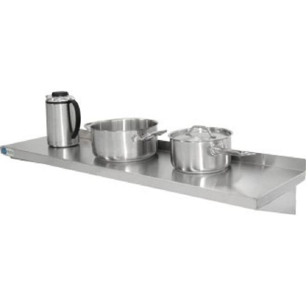 Vogue Stainless Steel Kitchen Shelf 1800mm