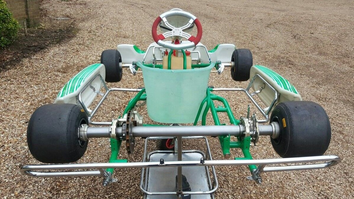 secondhand kartingcouk rolling chassis tonykart chassis evk  tony kart rolling chassis