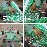 Tonykart Chassis EVK 2014 Tony Kart Rolling Chassis for Rotax 401 Racer