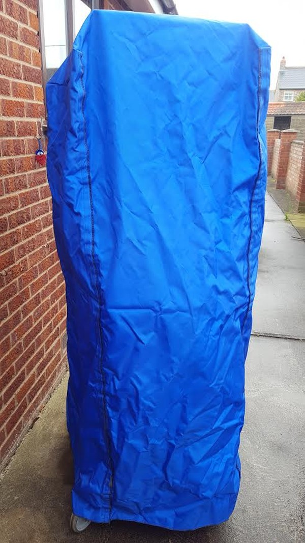 Velcro Sided Blue Rack Cocer For Sale