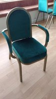 Green Stackable Banqueting Armchair
