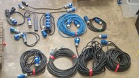 Job Lot of 32amp Electrical Equipment - Cables, Splitter, Adapters, Socket Boards