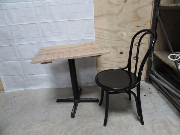 46 Black Bentwood Chairs