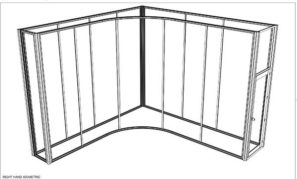 Curved Framework For Sale