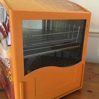 Orange Hot Dog Steamer