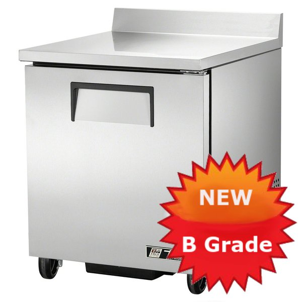 B Grade refrigerated counter