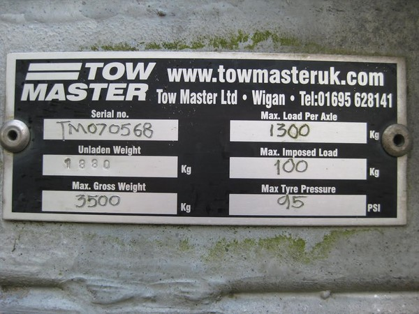 Towmaster exhibition trailer for sale
