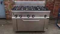 Commercial Silko Gas 6 Burner Cooker