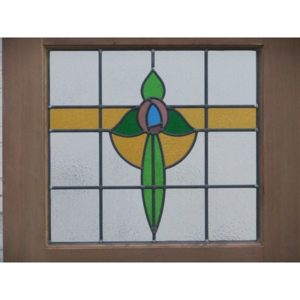 Stained Glass Original Exterior Door