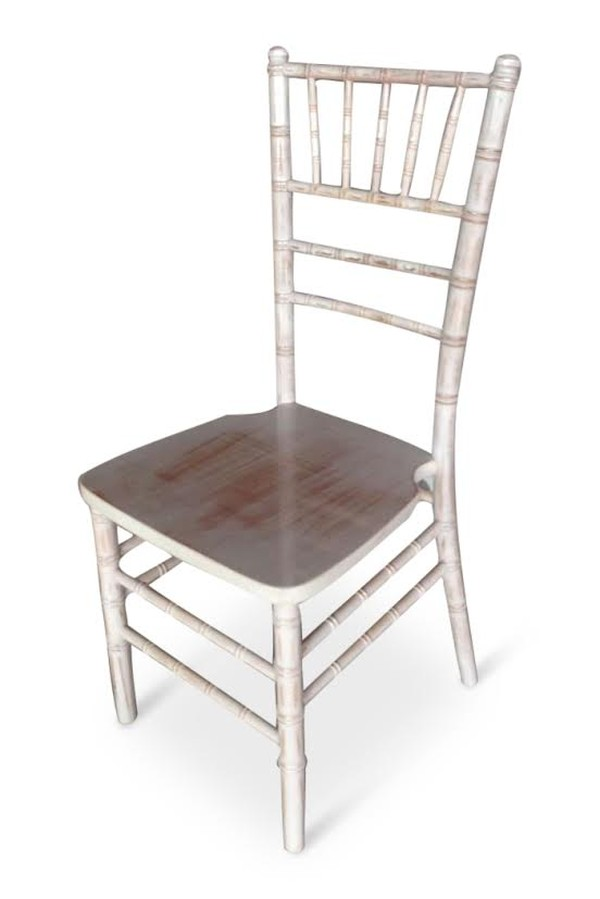 New Limewash Chiavari Chairs