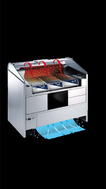 Electrolux NERLP2 Libero Line - 2 Unit Freestanding Refrigerated Counter