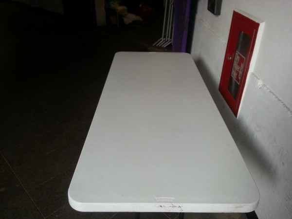 Plastic 6ft Trestle Tables
