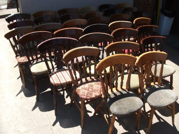 Farmhouse Chairs (Code Job Lot Farmhouse) - Shropshire
