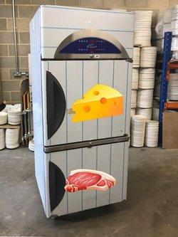 Split fridge  Meat / dairy