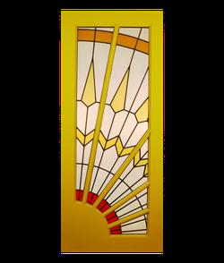 Full Sunburst Door