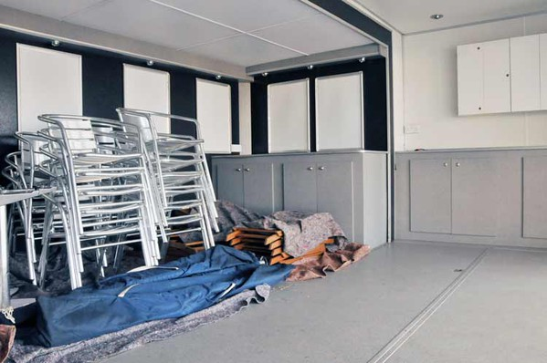 Secondhand hospitality trailer for sale