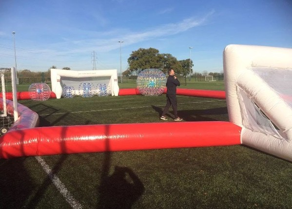 Outdoor Inflatable Football Pitch