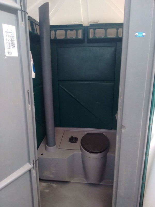 Single Unit Toilet