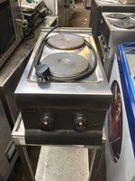 Lincat Silverlink Electric 2 Ring Hob
