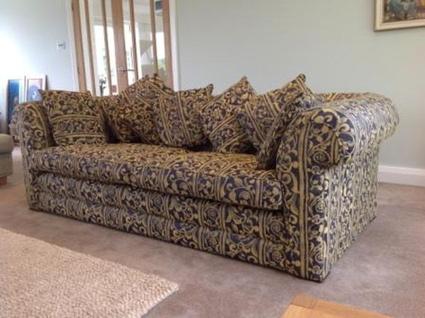 John Ash Designed Bespoke Handmade Sofa, 3 seater luxury