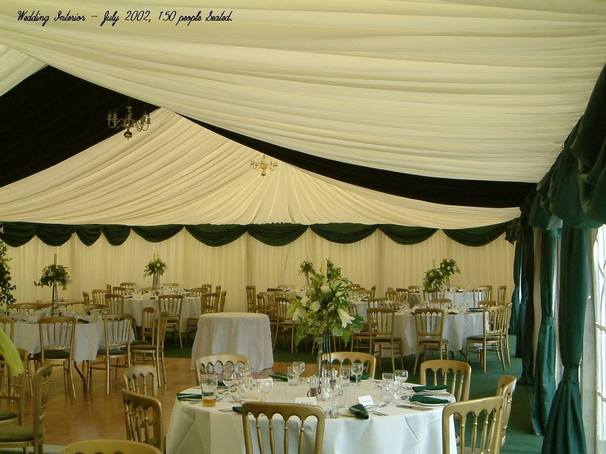 Curlew secondhand marquees swags overlays drapes pelments and job lot of plum gold and green linings junglespirit Images