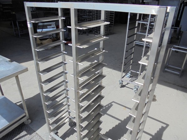 Stainless Steel Double Trolley (4999)