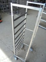 Stainless Steel Gastro Trolley (5000)