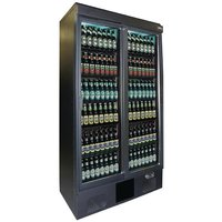 Maxiglass Double Sliding Door Upright Bottle Cooler
