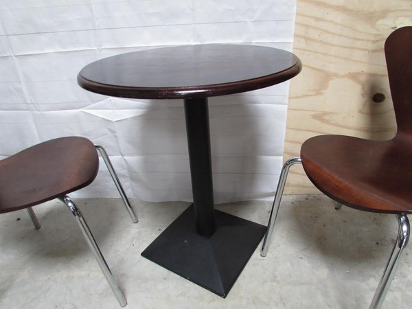 Topped Cafe Tables
