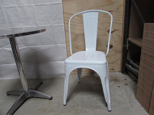 White Tolix Style Metal Chairs