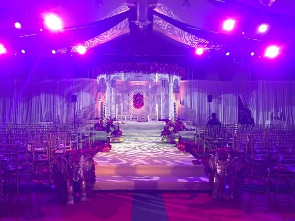 Asian wedding Decor - Maharaj Mandap