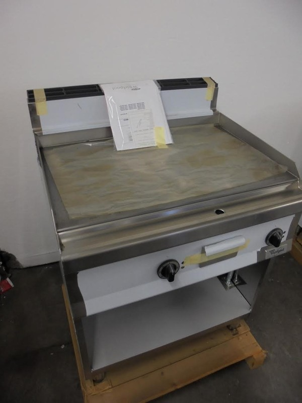 New Whirlpool AGB558 Freestanding Griddle