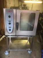Rational Cm61 Six 6 Grid Combi Oven 2008 Steam Cooker Convection Cooker Steamer