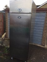 Foster Upright 600 Litre Commercial Freezer Catering Equipment Serviced Tested