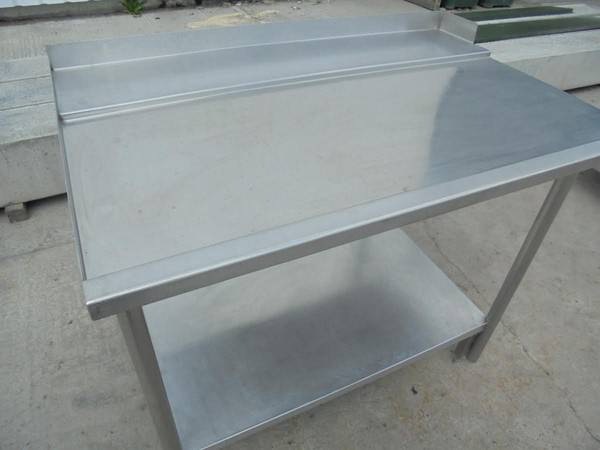 Stainless Steel Dishwasher Table