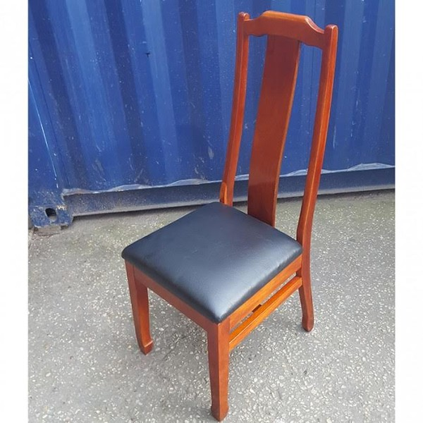 Classic Style High Back Solid Wood Dining Chair