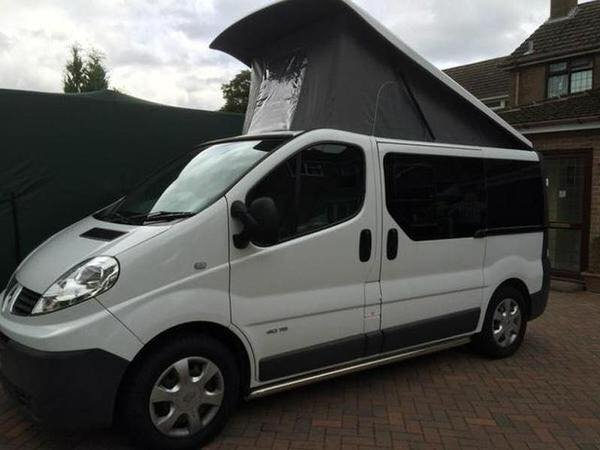 5 berth campervan for sale