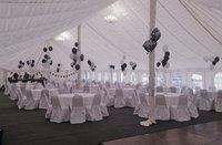 Banqueting Chairs And Tables With Covers