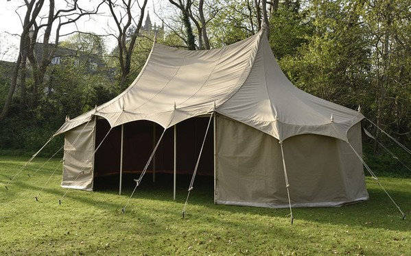 Unusual traditional marquee